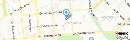 Участковый пункт полиции №56 Бостандыкского района на карте Алматы
