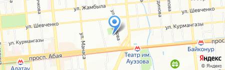 Департамент КНБ Республики Казахстан по г. Алматы на карте Алматы
