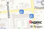 Схема проезда до компании Bank RBK в Алматы