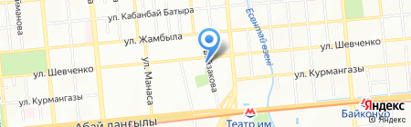 Специализированный межрайонный экономический суд г. Алматы на карте Алматы