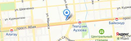 Сentral Asia Beer на карте Алматы