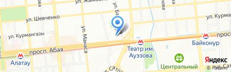Афиша.kz на карте Алматы