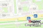 Схема проезда до компании ASPASIA в Алматы