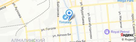 Друг на карте Алматы