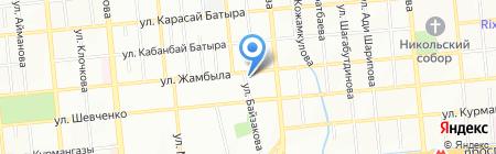 Общество инвалидов Алмалинского района г. Алматы на карте Алматы