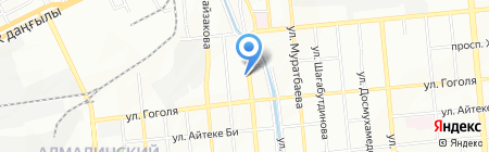 Kazeurotrade на карте Алматы