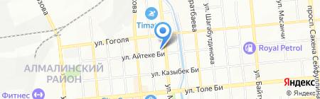 KAZEXPRESS на карте Алматы