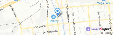 Ala Post на карте Алматы
