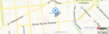 КАЗИНКАС на карте Алматы