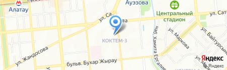 Управление здравоохранения г. Алматы на карте Алматы