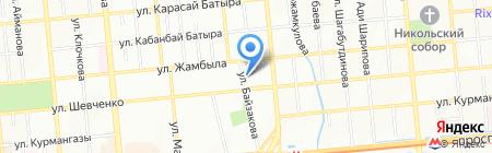 ОКА на карте Алматы