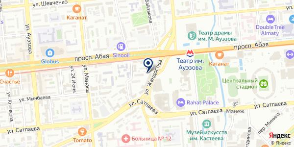 MultiGroup на карте Алматы