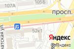 Схема проезда до компании Euroservice Kazakhstan, ТОО в Алматы