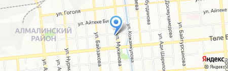 Tau Dan Trade на карте Алматы
