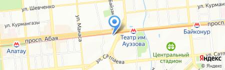 PetroKazEnergy на карте Алматы