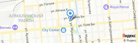 Vertikal на карте Алматы