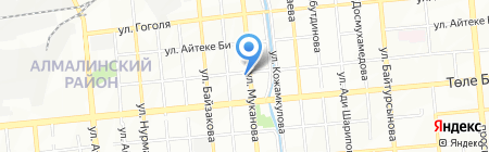 Батыр LTD на карте Алматы