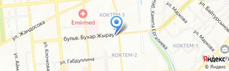 Atlantic Pool на карте Алматы