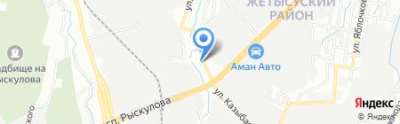 Aleks studio на карте Алматы