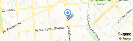 Subaru автосалон на карте Алматы