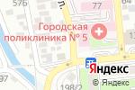 Схема проезда до компании У Марьяши в Алматы