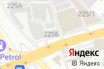 Схема проезда до компании FABE в Алматы