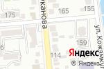 Схема проезда до компании A-potolki в Алматы