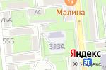 Схема проезда до компании Ясли-сад №69 в Алматы