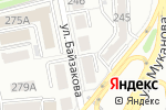 Схема проезда до компании QSE в Алматы