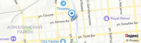 Аксон на карте Алматы