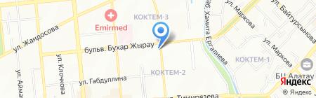 Алматы Энерго Центр на карте Алматы