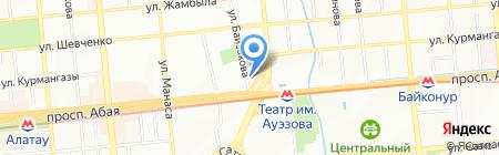 1WEB на карте Алматы