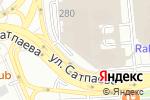 Схема проезда до компании Diodey в Алматы