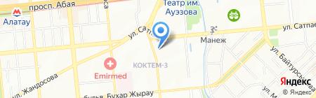 The Print на карте Алматы
