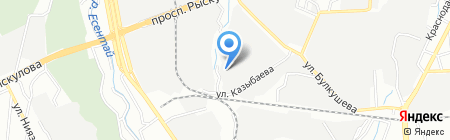 Aд и Да на карте Алматы