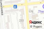 Схема проезда до компании UK school в Алматы