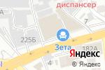 Схема проезда до компании ZETA в Алматы