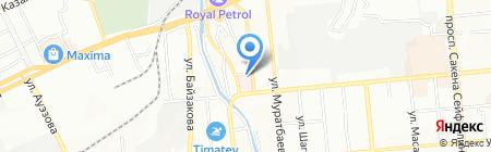 Агентство по защите прав потребителей Жетысуского района на карте Алматы