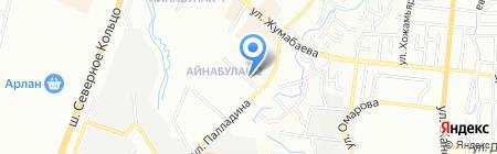 Наила на карте Алматы