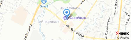 Рома на карте Алматы