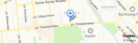 Dauphin Travel на карте Алматы