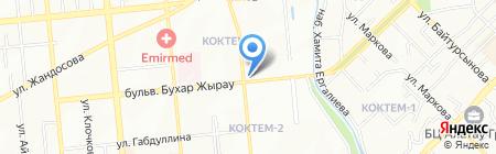 Магазин детских товаров и канцелярии на карте Алматы