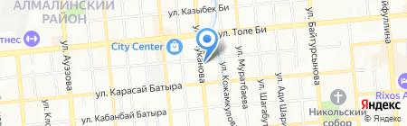 Шар-Дизайн на карте Алматы