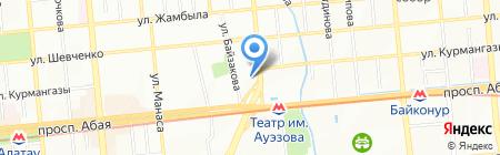 ALSI на карте Алматы