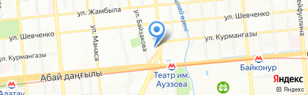 Travel System на карте Алматы