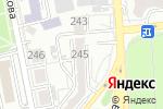Схема проезда до компании BeStar в Алматы