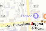 Схема проезда до компании Альта в Алматы