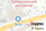 Схема проезда до компании Шанс в Алматы