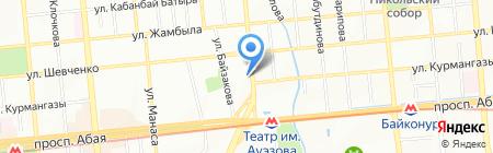 Пиран Порторож на карте Алматы
