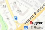 Схема проезда до компании Almaty flooring service в Алматы